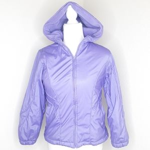 Copper Key Girls Purple Winter Coat Snow Jacket Lg